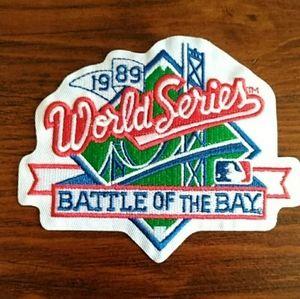 1989 MLB World Series Patch